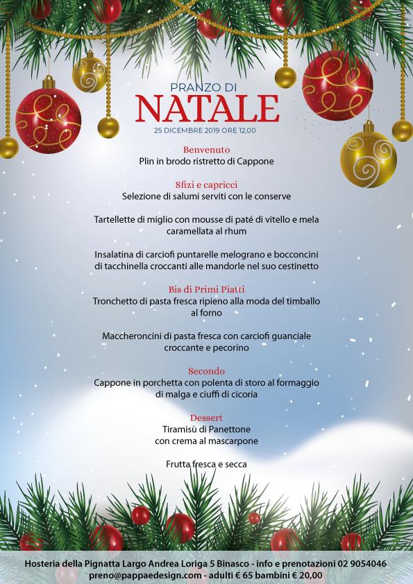 Foto Pranzo Di Natale.Menu Tradizionali Senza Glutine Hosteria Della Pignatta